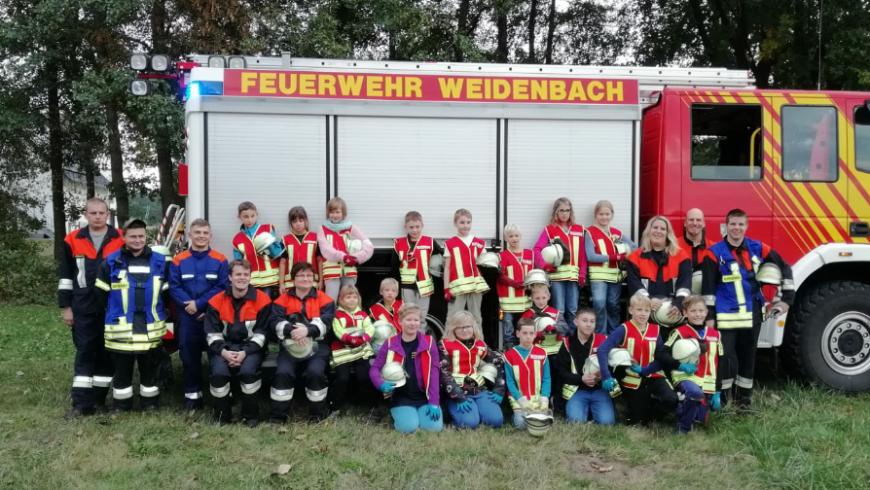 10 Jahre Kinderfeuerwehr Weidenbach