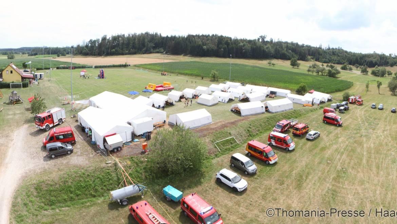 Jugendzeltlager des Kreisfeuerverbandes des Landkreises Ansbach